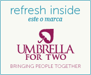 Refresh Inside este o marca Umbrella For Two